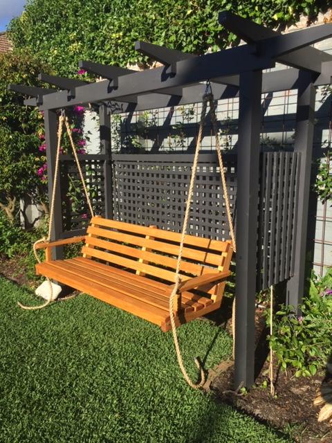 Accoya porch swing