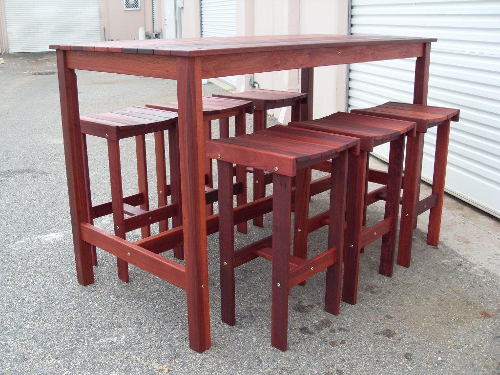 b23 Outdoor -Cellar - 6 seater rectangular bar set 2.JPG