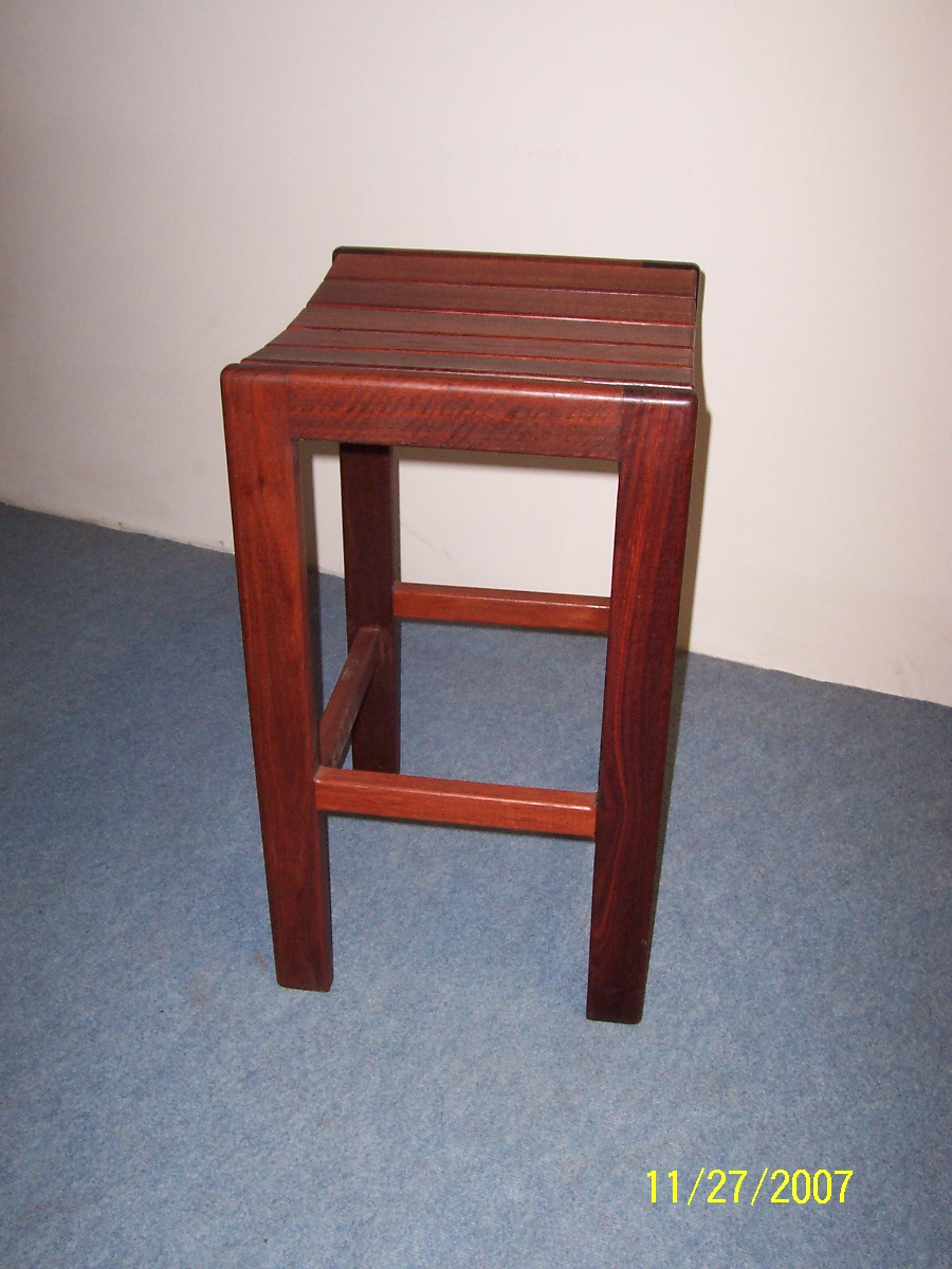 b38 Stool -Indoor Jarrah bar stool b.JPG