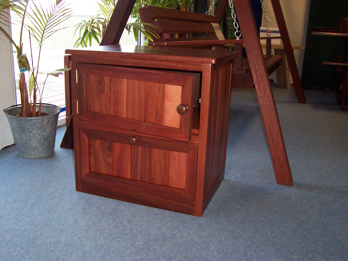 a2 Bedside custom made with drawer and door.JPG