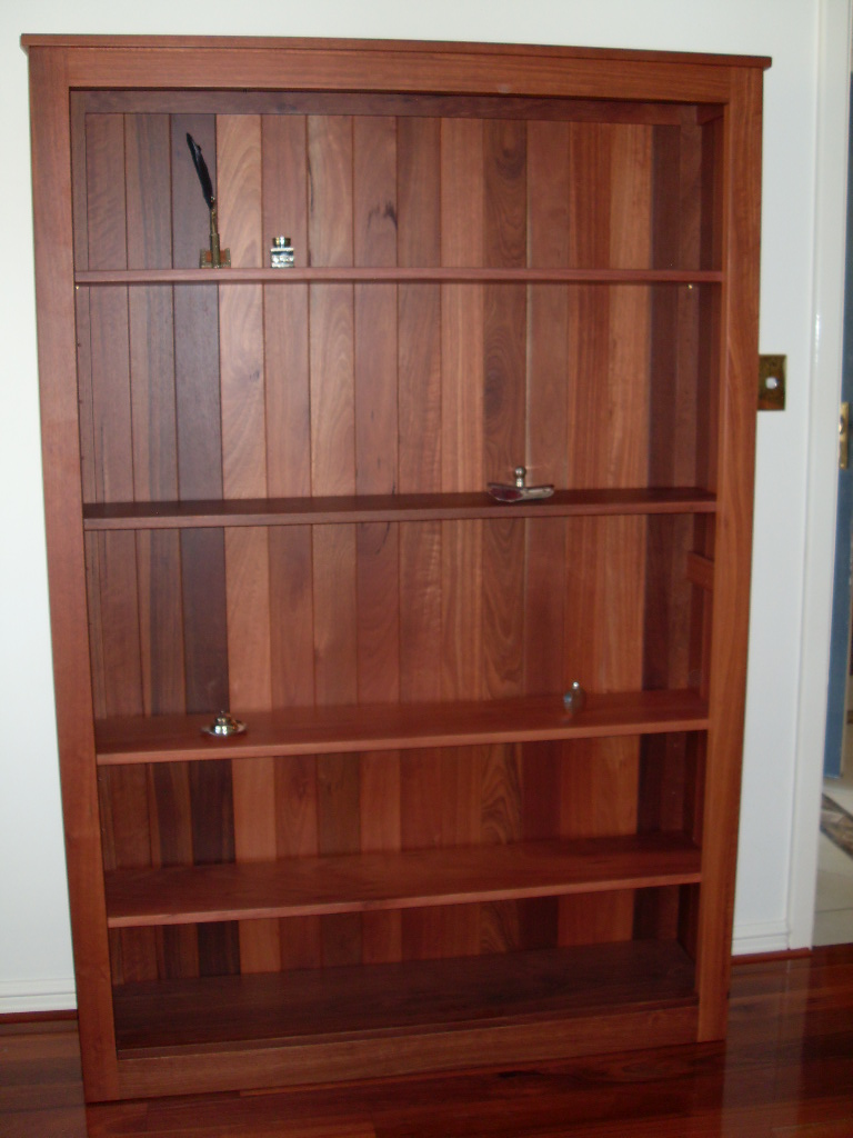 Jarrah bookcase 2100 x 900 x 350 mm