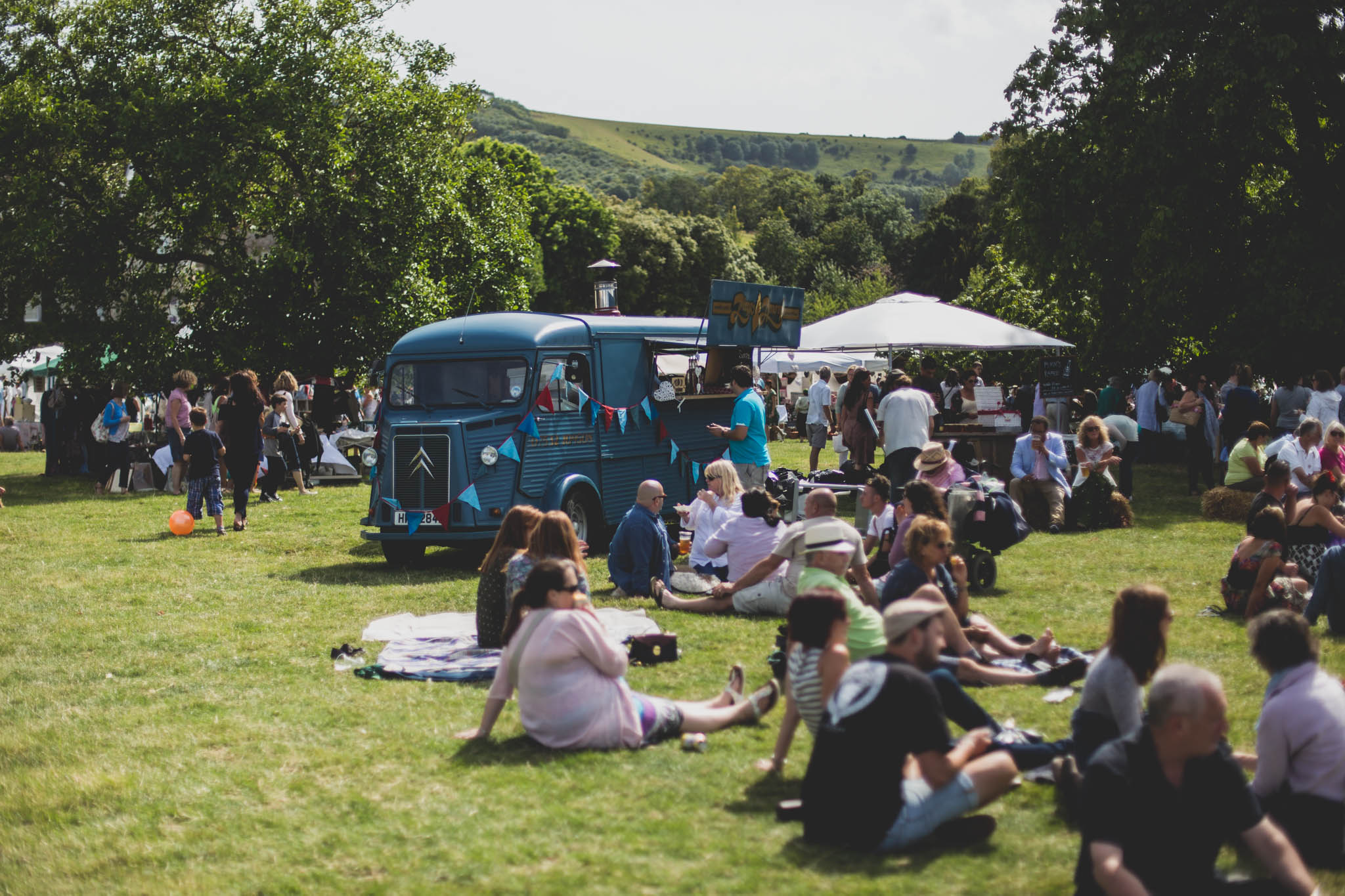 BRIQUE will be pitching @ Firle Vintage Fair - 12-13 August 2017