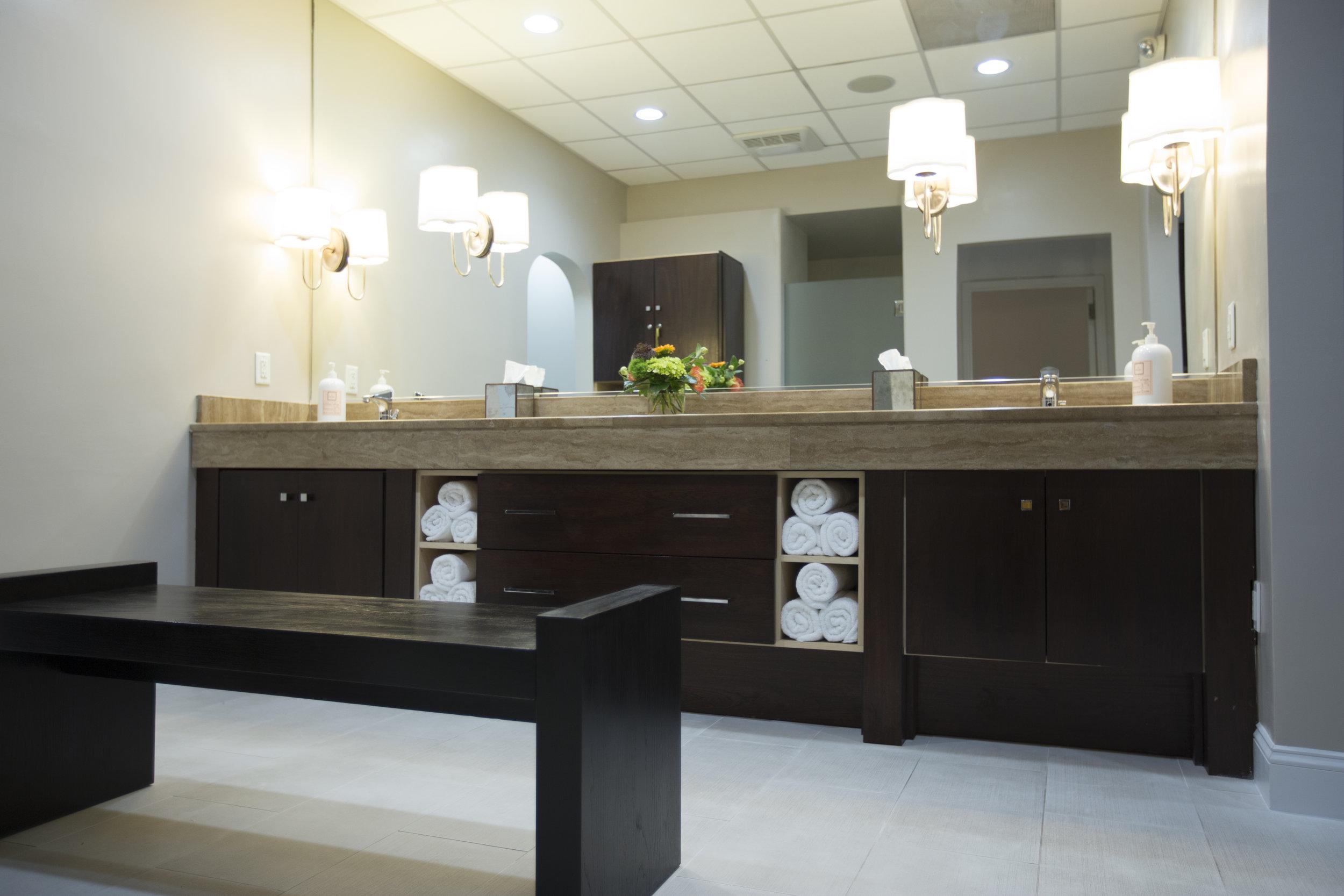 Ladies Luxury Locker Room at La Therapie Spa