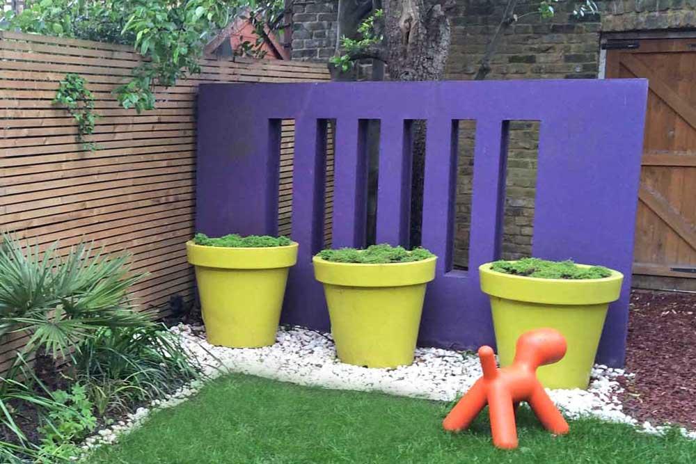 Cat Datta - purple wall