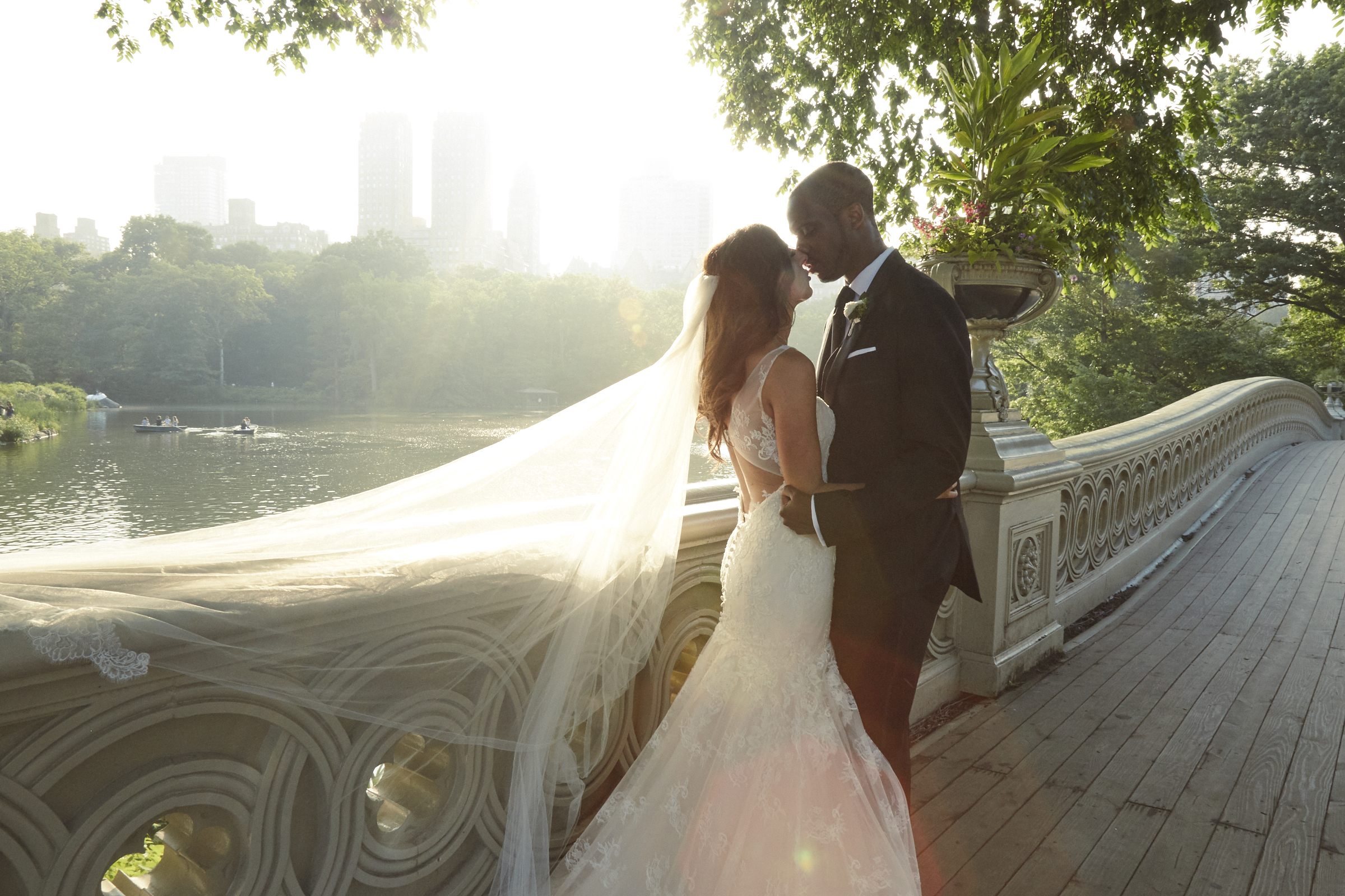 Anna + Adom - A Central Park Loeb Boathouse Fairytale..
