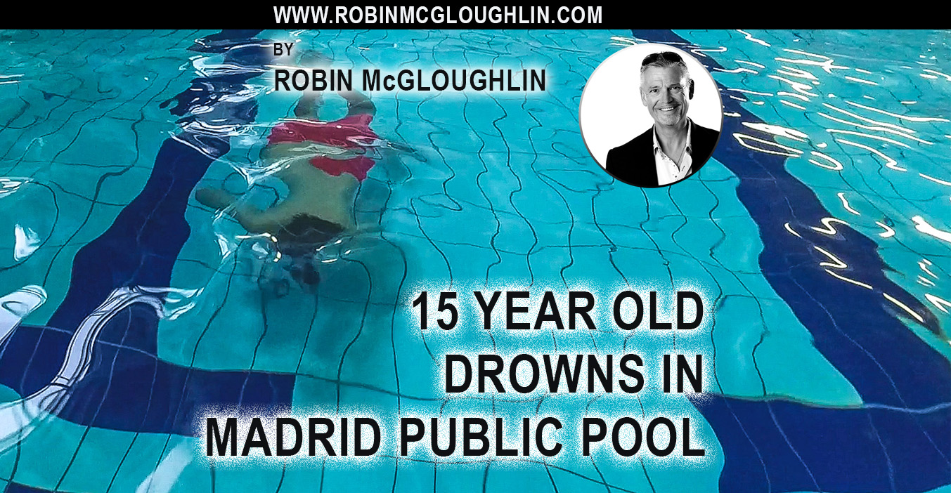 A 15 year old boy had drowned in Madrid
