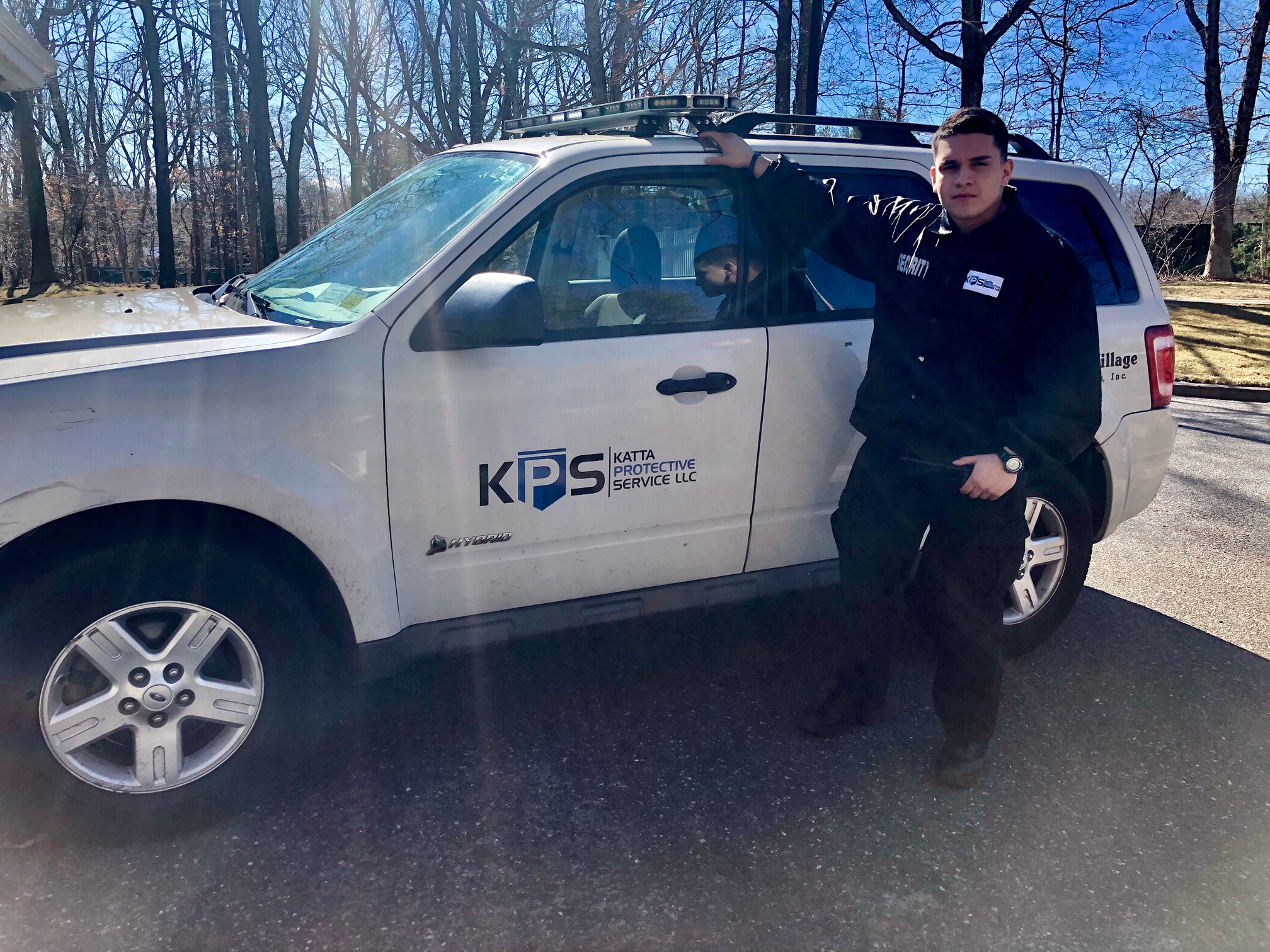 KPS Officer on patrol at a gated community in Long Island NY