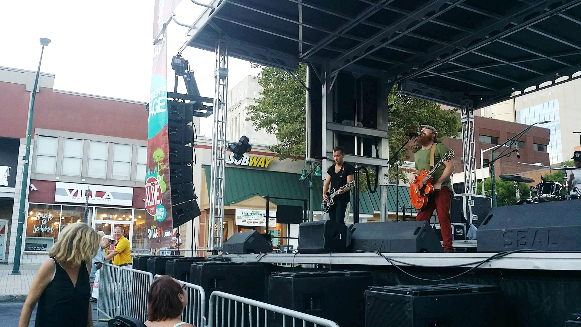 Reading Downtown Alive 2016