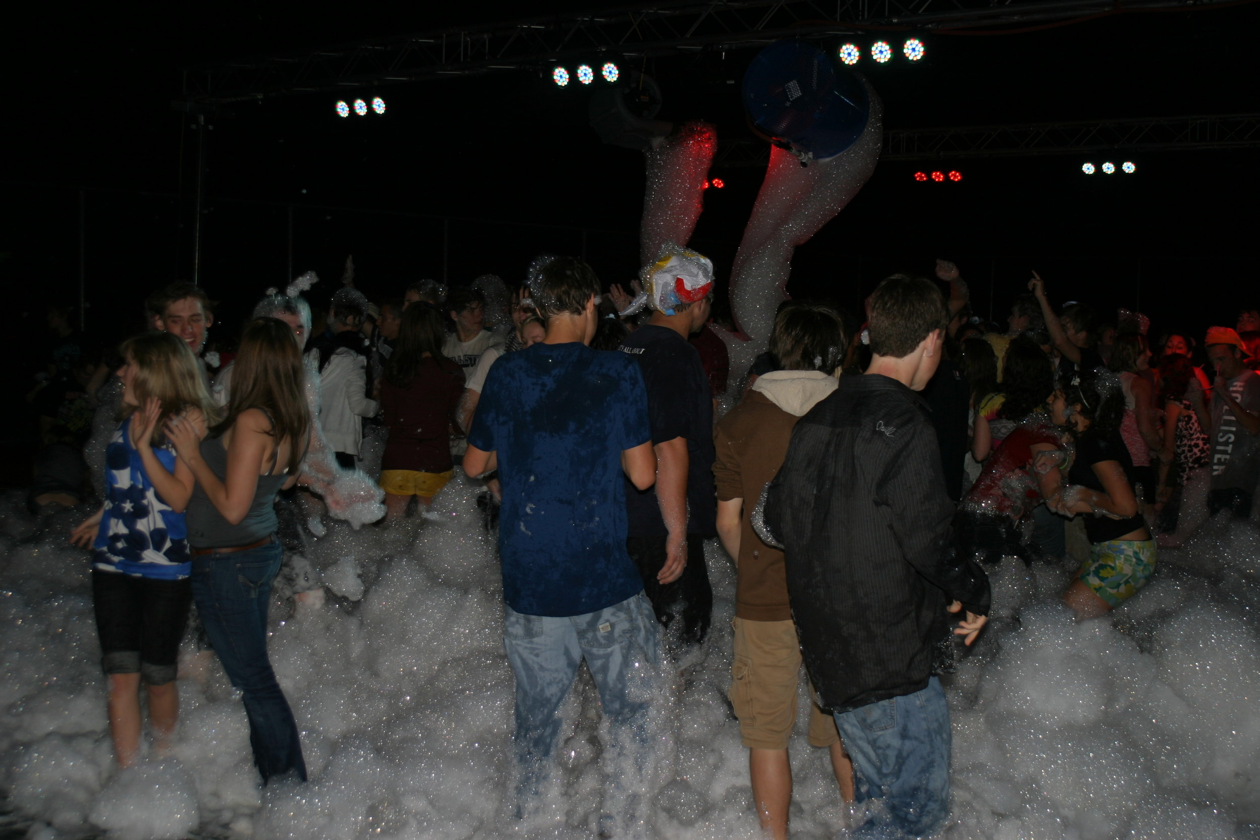 Octorara High School Foam Pit