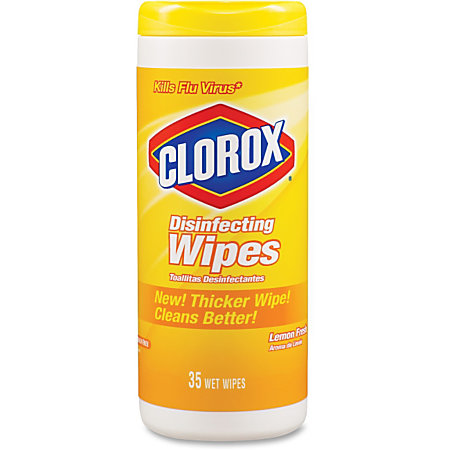 (1) Clorox Wipes - Approximate Cost $3.00