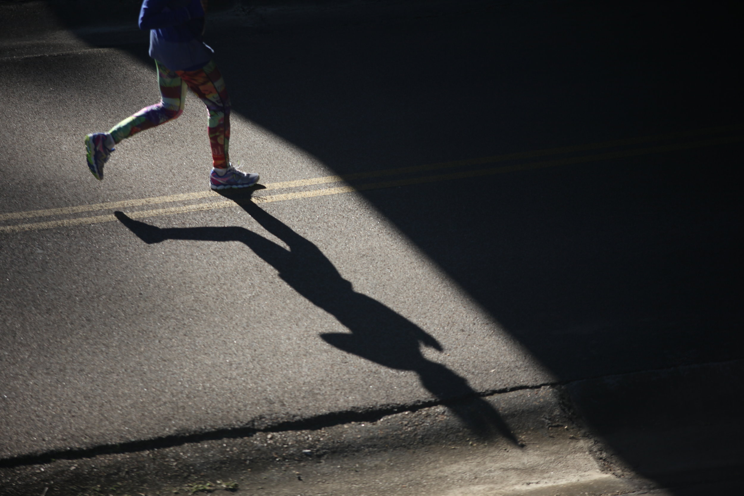 A competitor runs in the 10k race during the 39th Annual Run Thru History at the Vicksburg National Military Park  Saturday. (Courtland Wells/The Vicksburg Post)