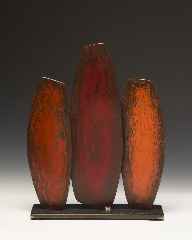"""Red Cypress , 15"""" h x 12"""" w x 4"""" d"""