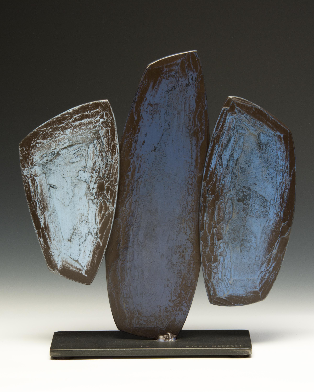 """Blue Cypress , 15"""" h x 13"""" w x 5"""" d"""