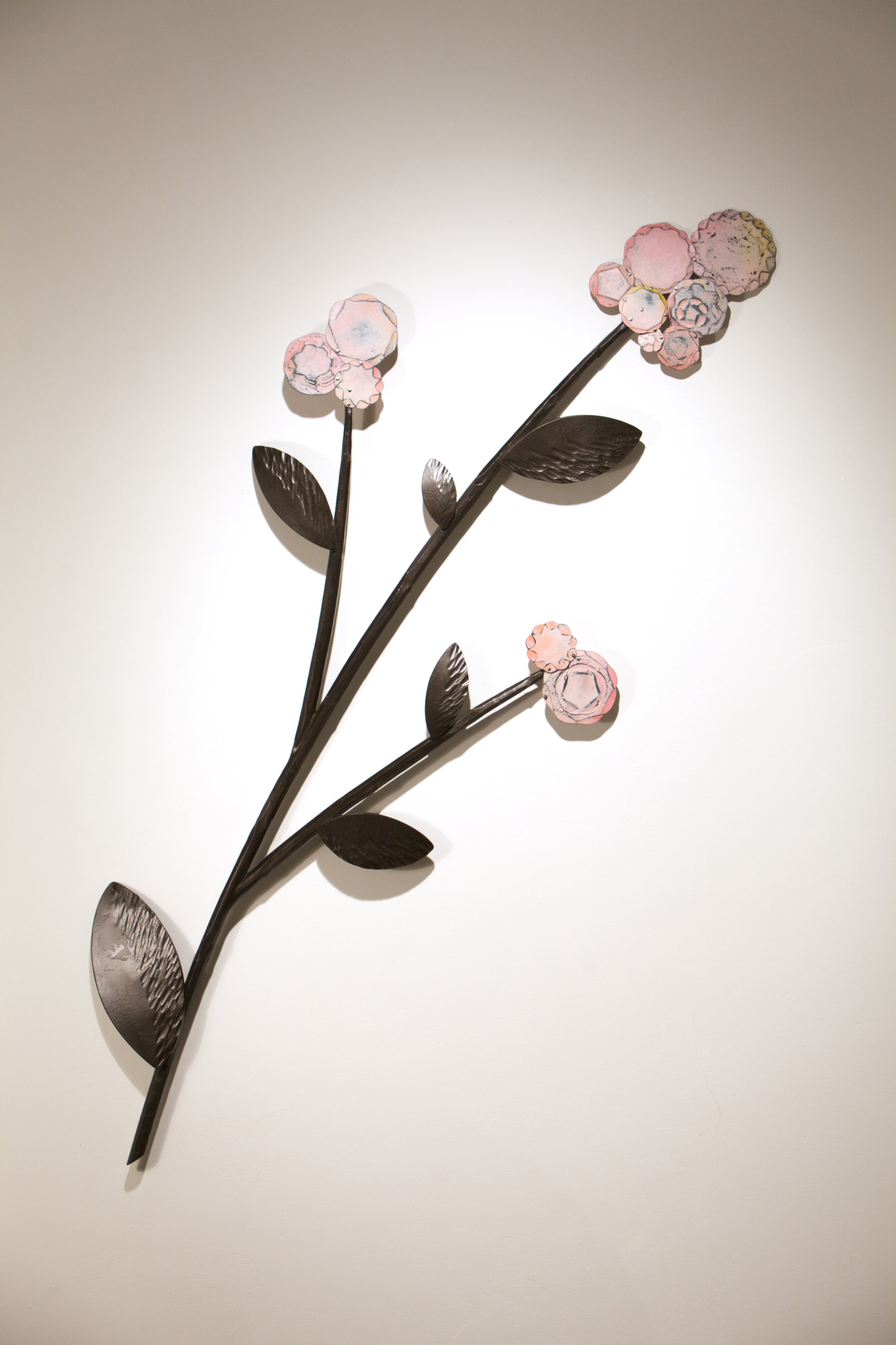 "Cherry Blossoms,  66"" h x 32"" w"