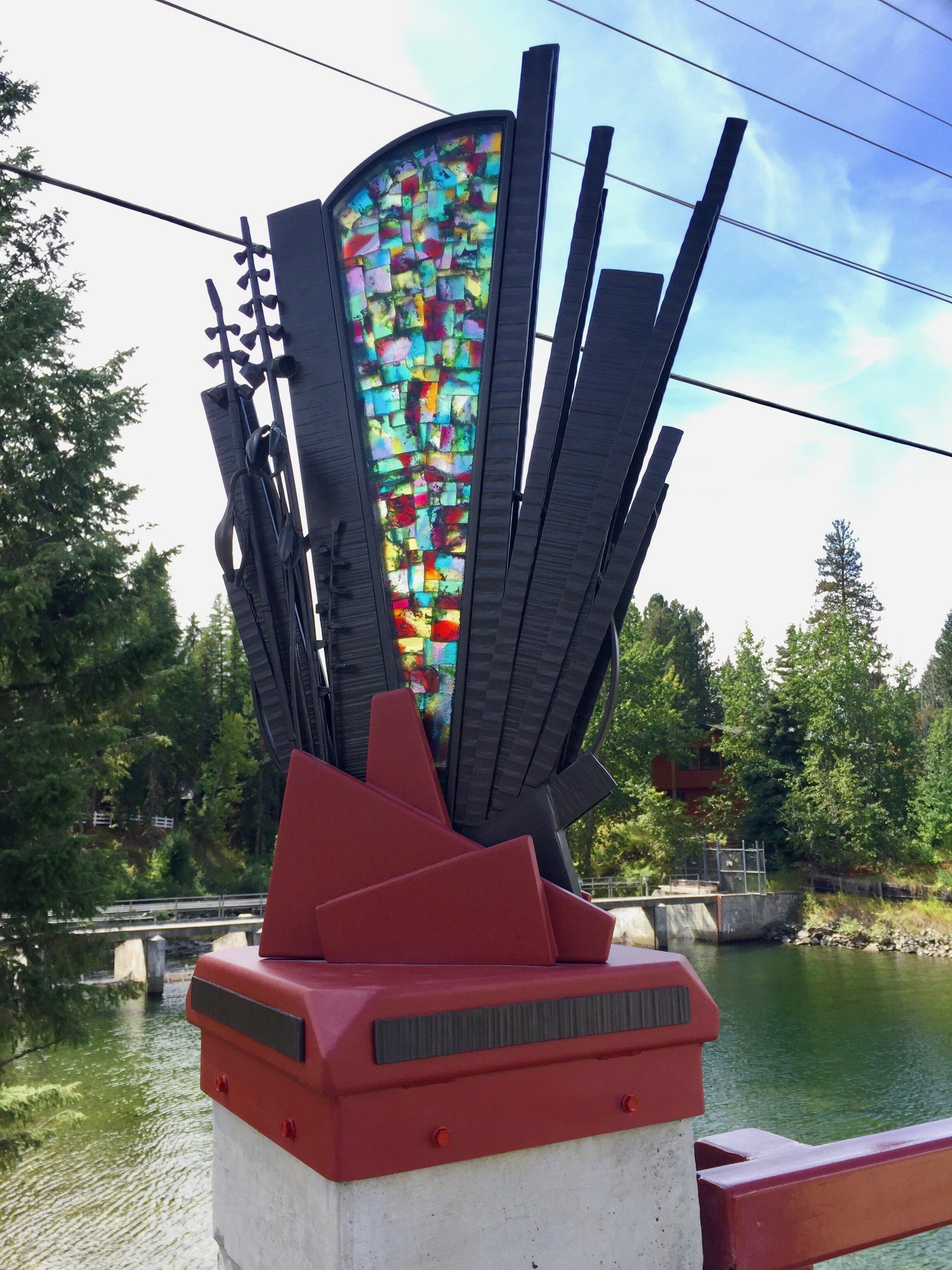 Susan Madacsi's Lardo Bridge Artwork