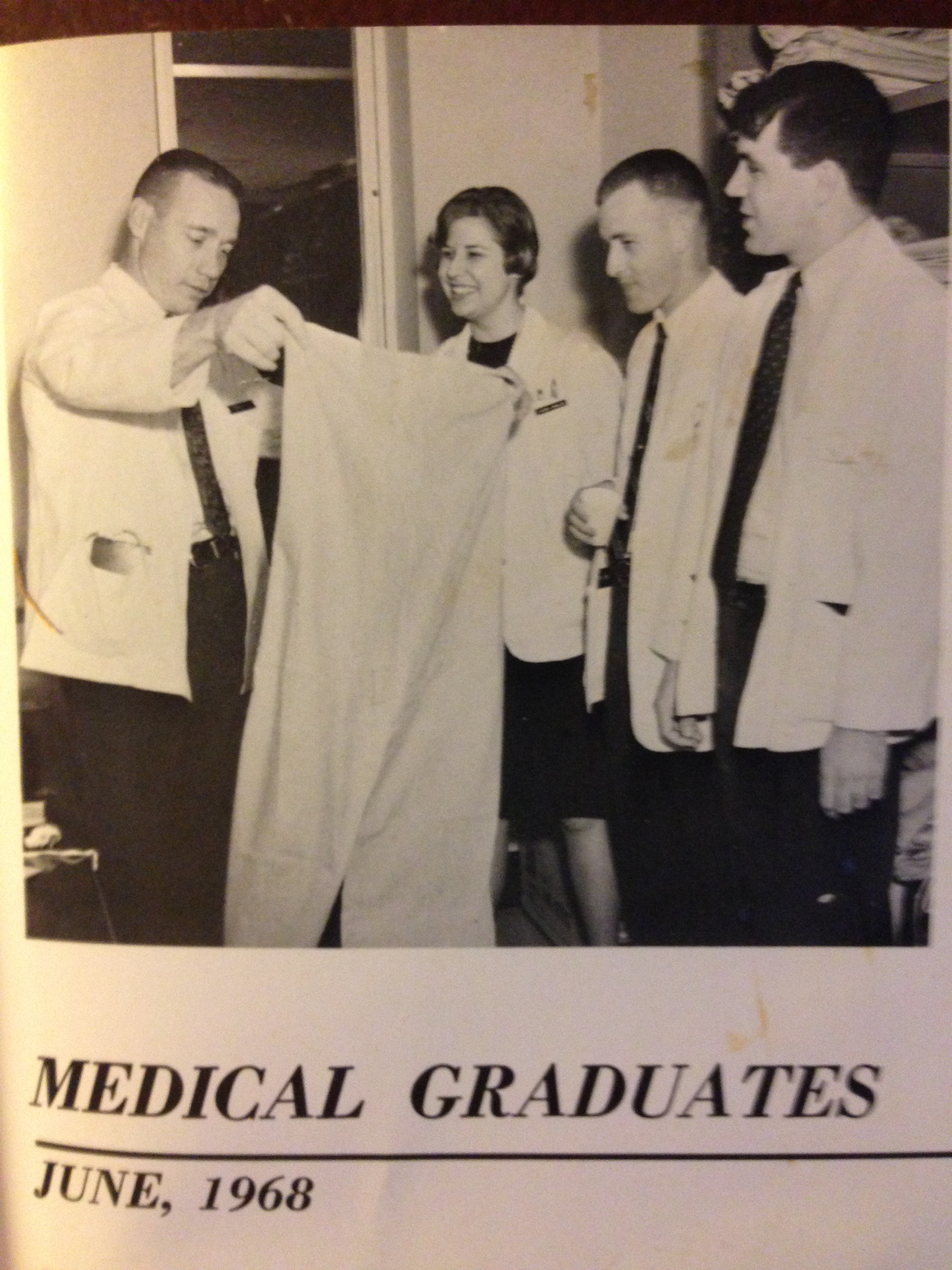 young medical students about to become doctors