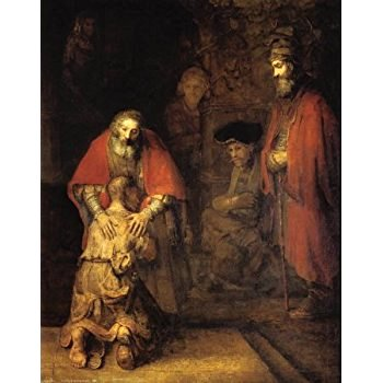 Rembrandt The Return of the Prodigal Son, The State Hermitage Museum
