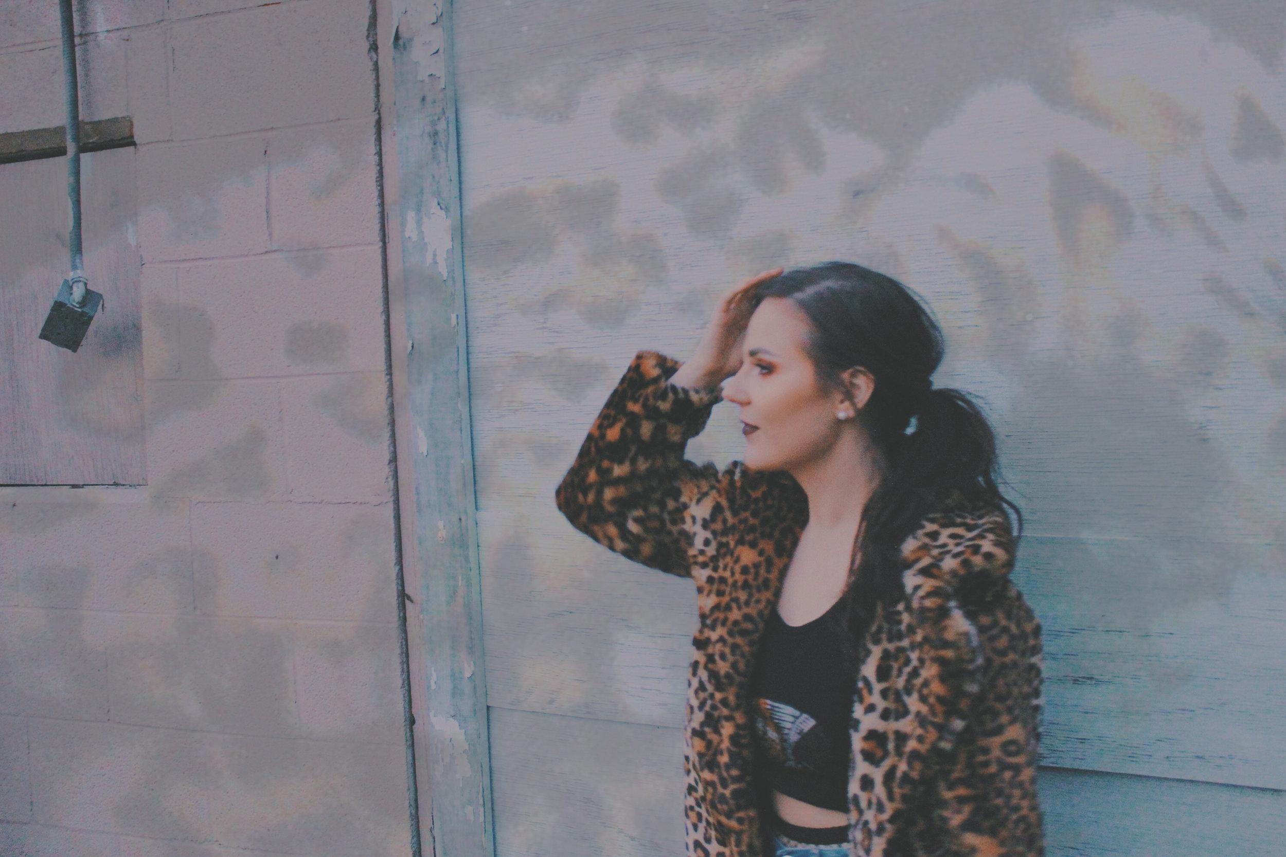 Kirstie Lovelady - Cheetah Coat