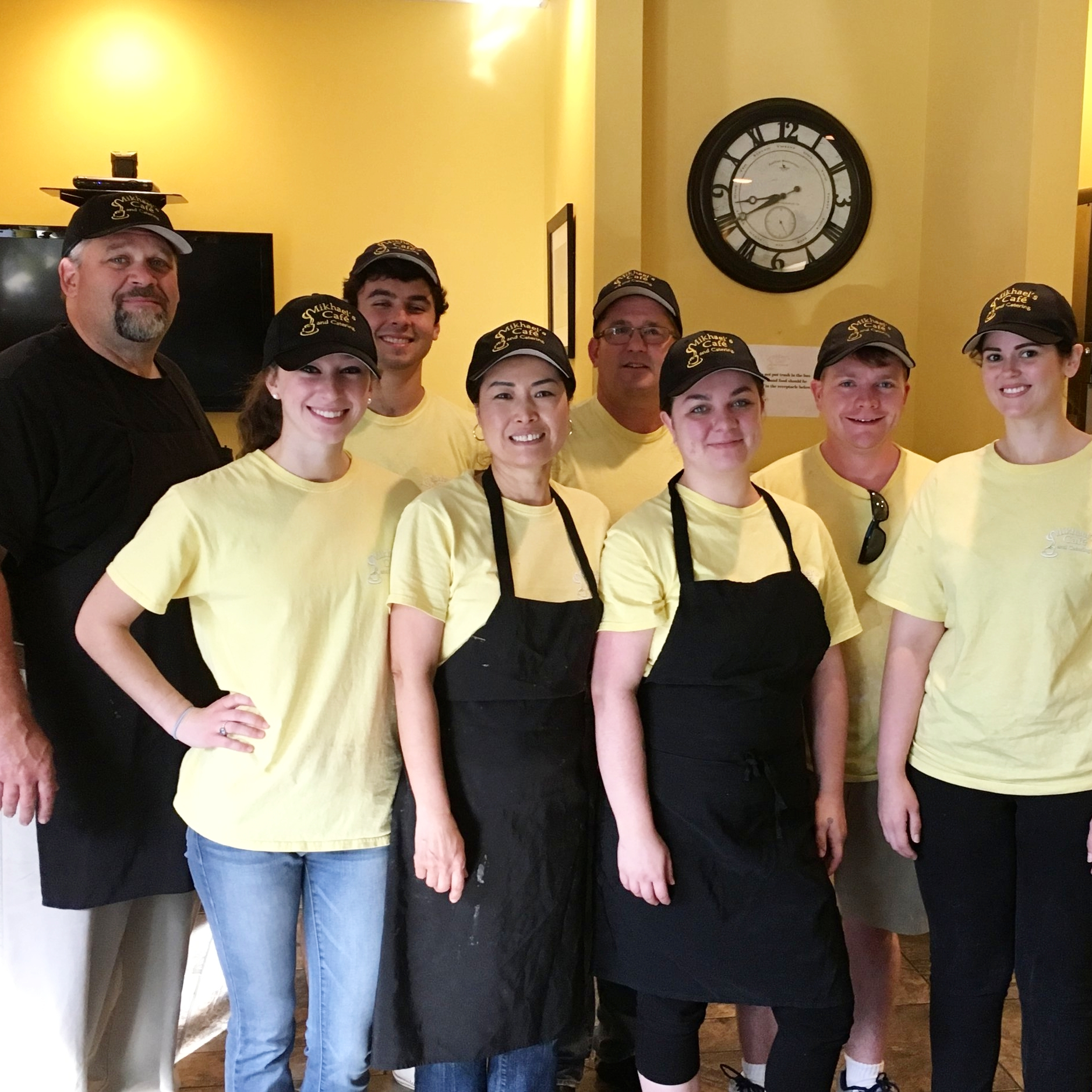 The Mikhael's Cafe Team