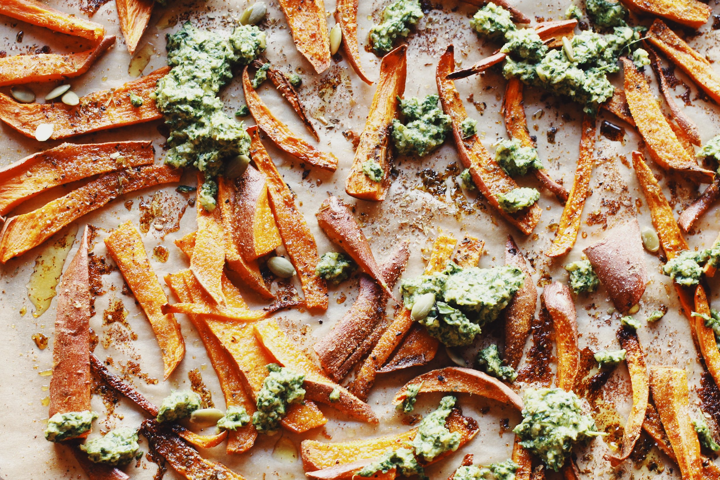 crispy sweet potato fries.JPG