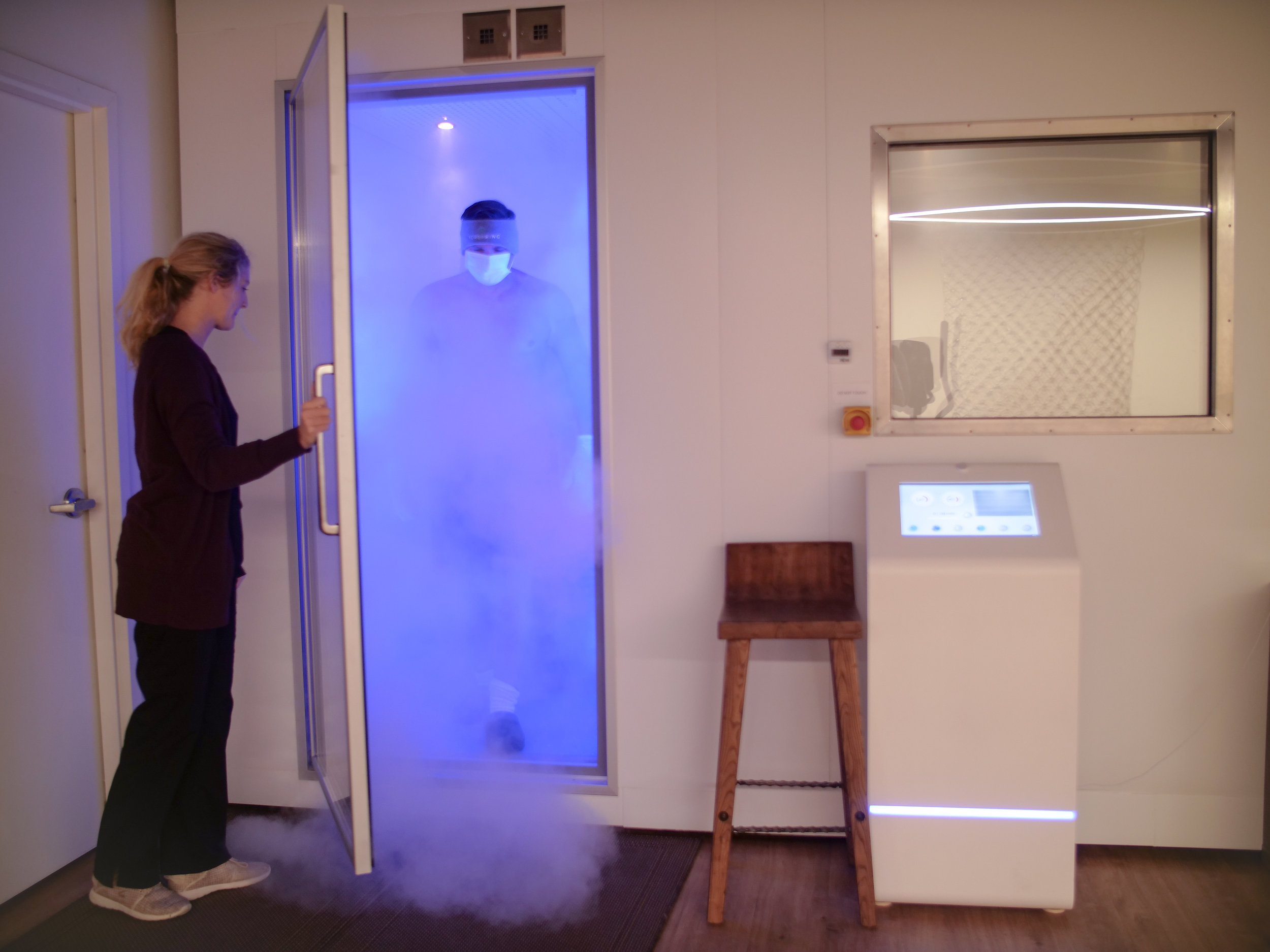NORSPRING electric cryotherapy double chamber