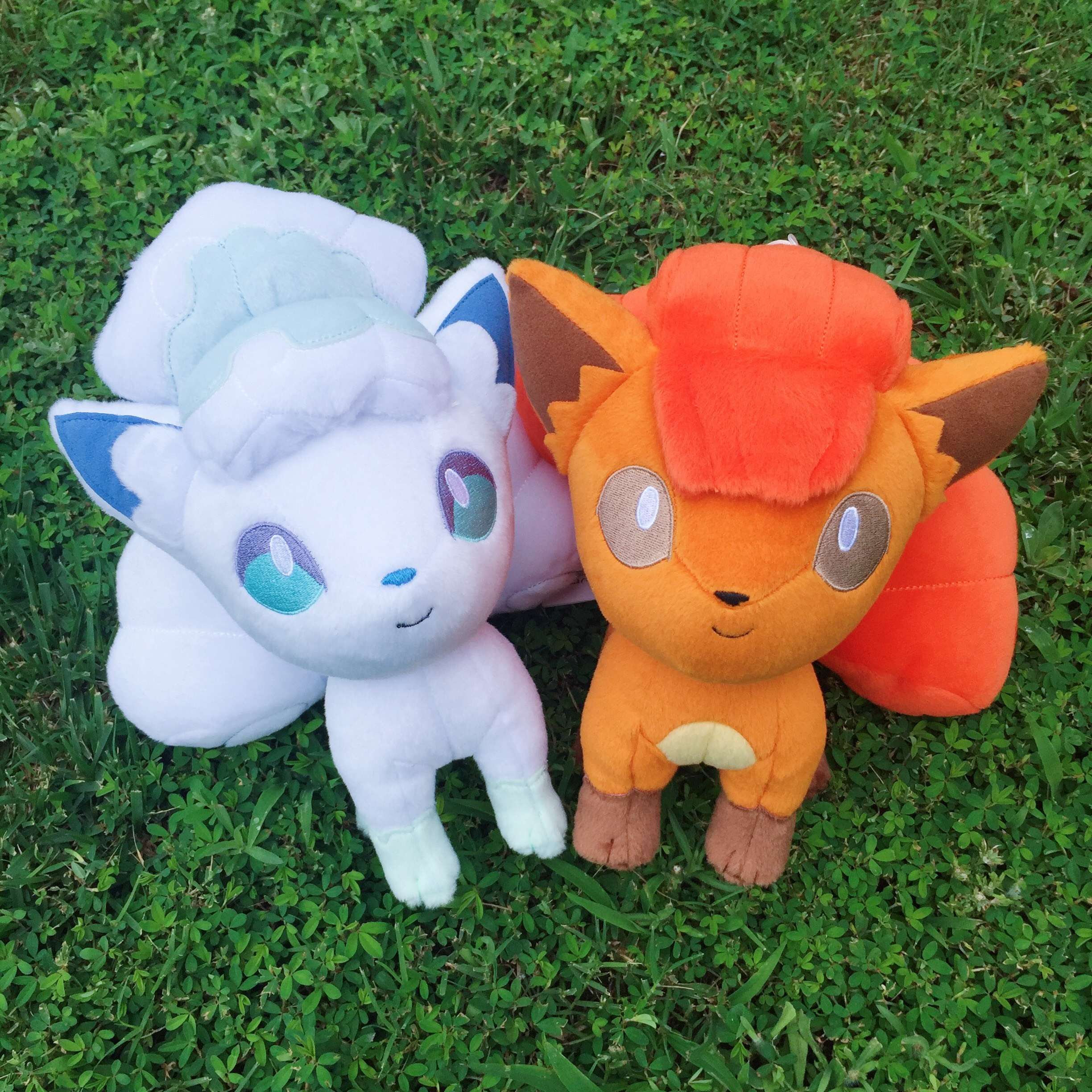 Today, we have a pair of adorable little foxes who've marched all the way from the land of Pokémon and are eager to meet you. Come and see two of our hottest (and coldest) new plush items from Banpresto! -