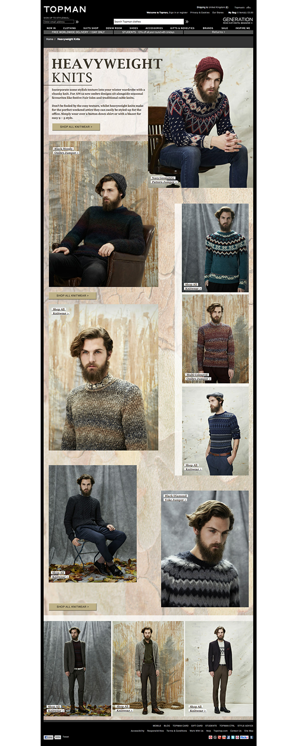 Heavyweight Knits editorial  |  click to view