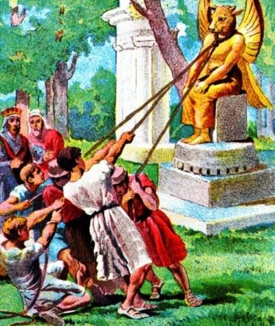 Asa Destroys the Idols
