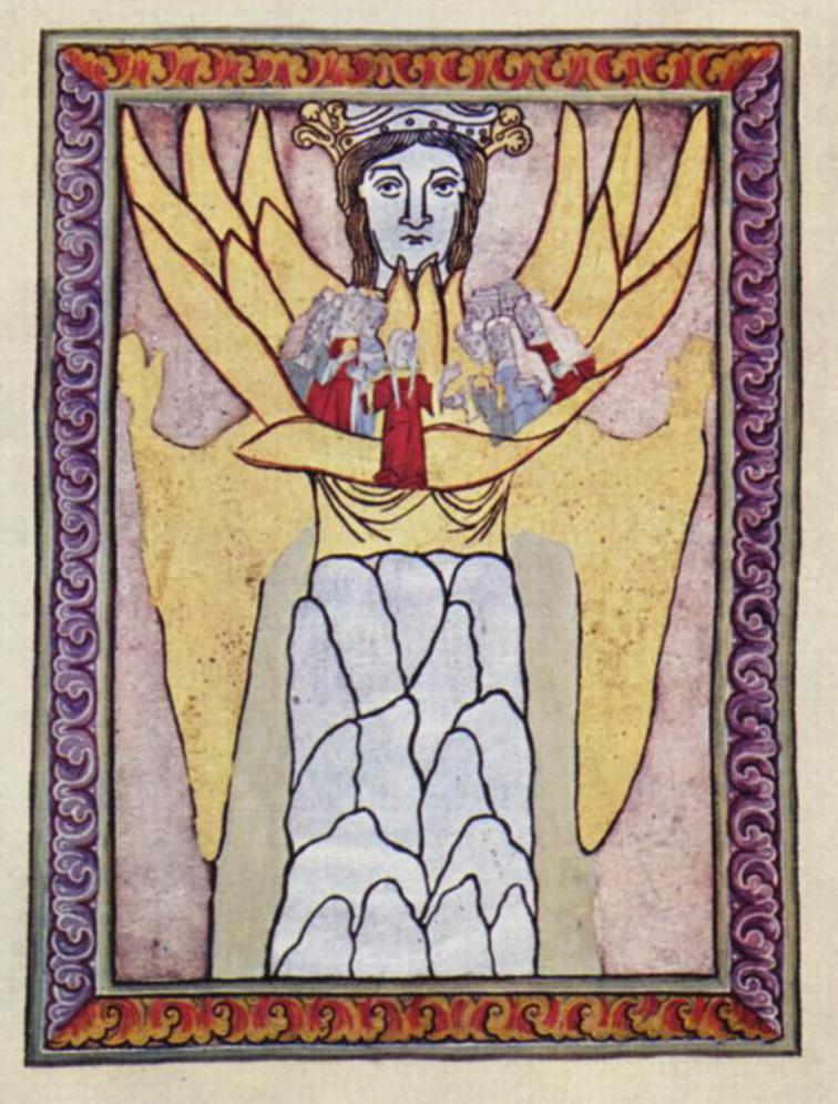 Hildegard of Bingen's vision of Ecclesia and Sophia