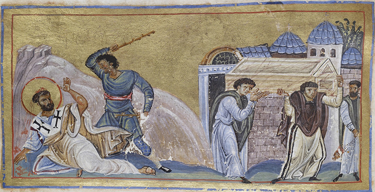 The Martyrdom of St. Timothy