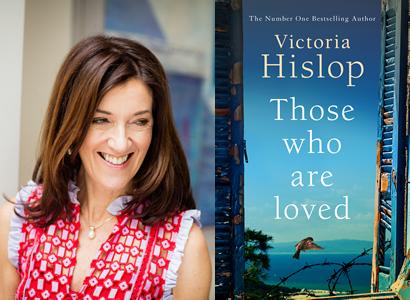 Victoria Hislop 27th June 1pm
