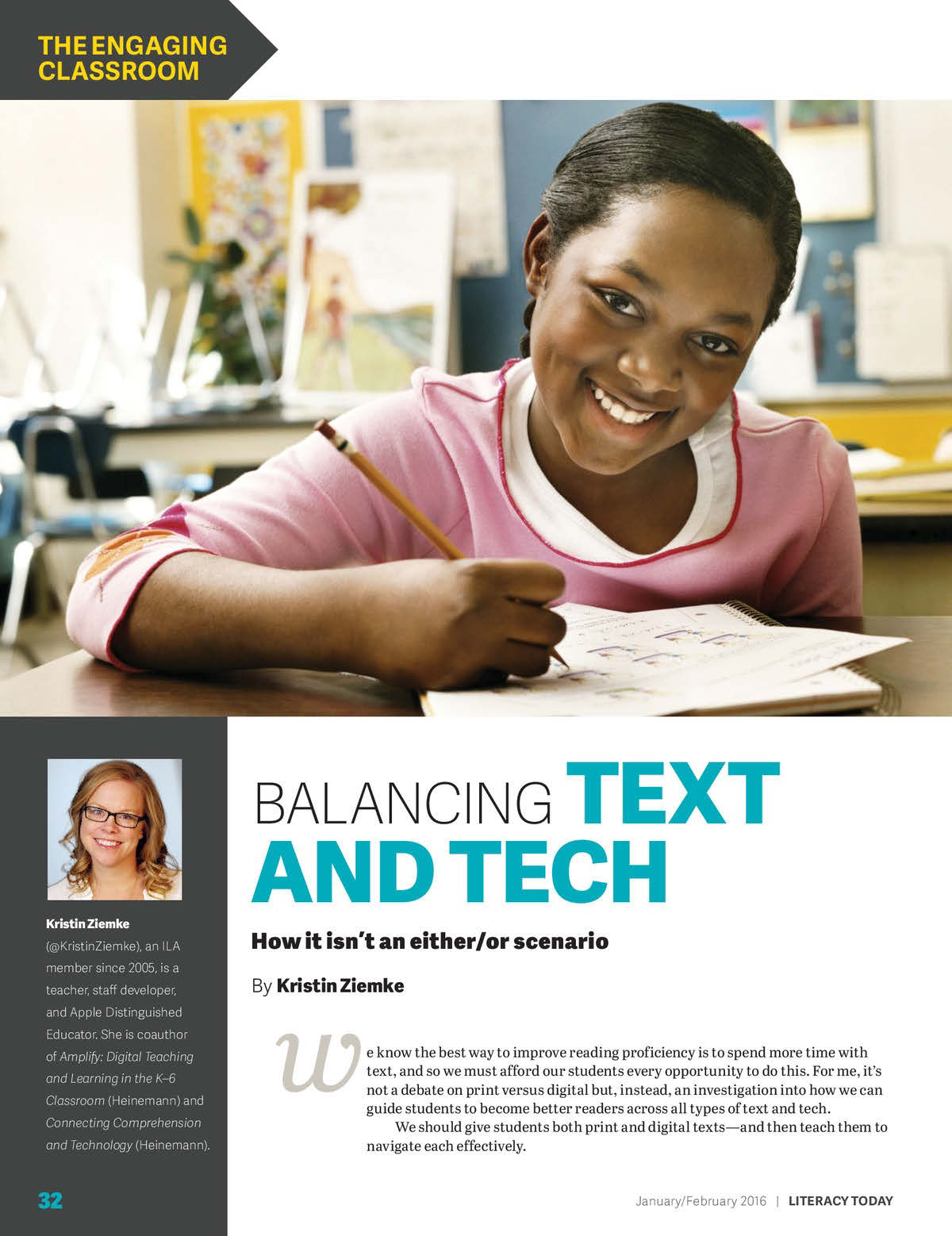 Balancing Text and Tech: How it isn't an Either/Or Scenario