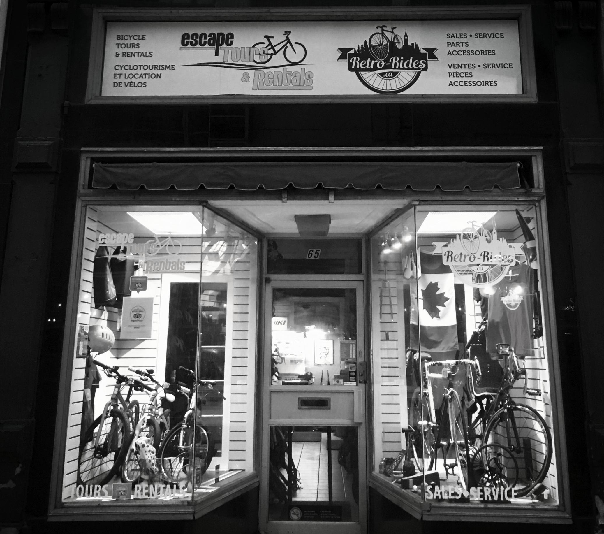Retro-Rides.ca 65 Sparks St. Ottawa, Ontario Canada K1P 5A5