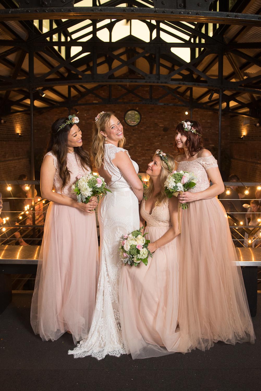 Foundry long island city wedding bridesmaid