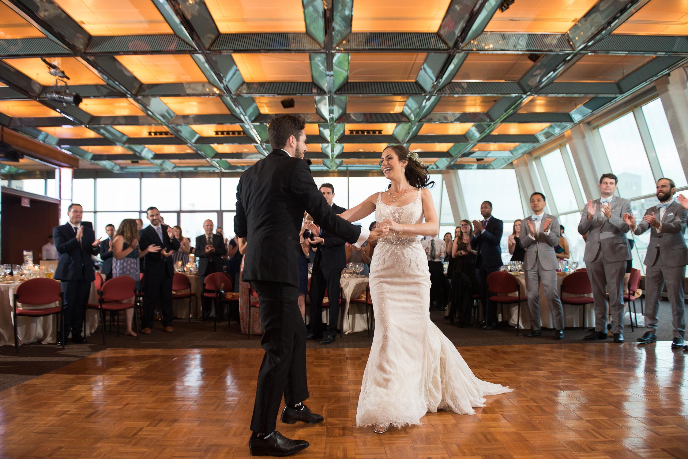 Kimmel center NYC wedding