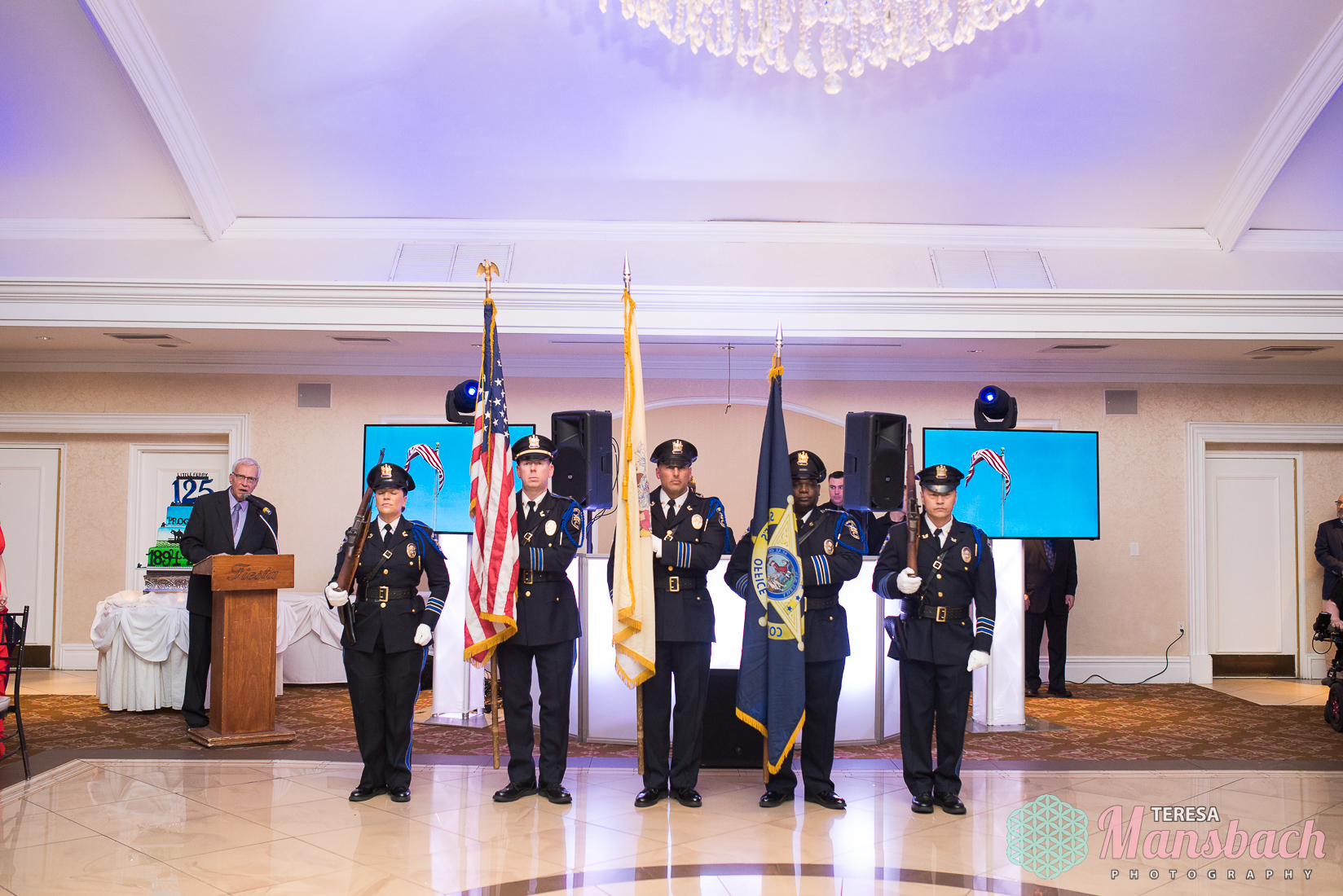 Bergen County Sheriff's Dept Color Guard