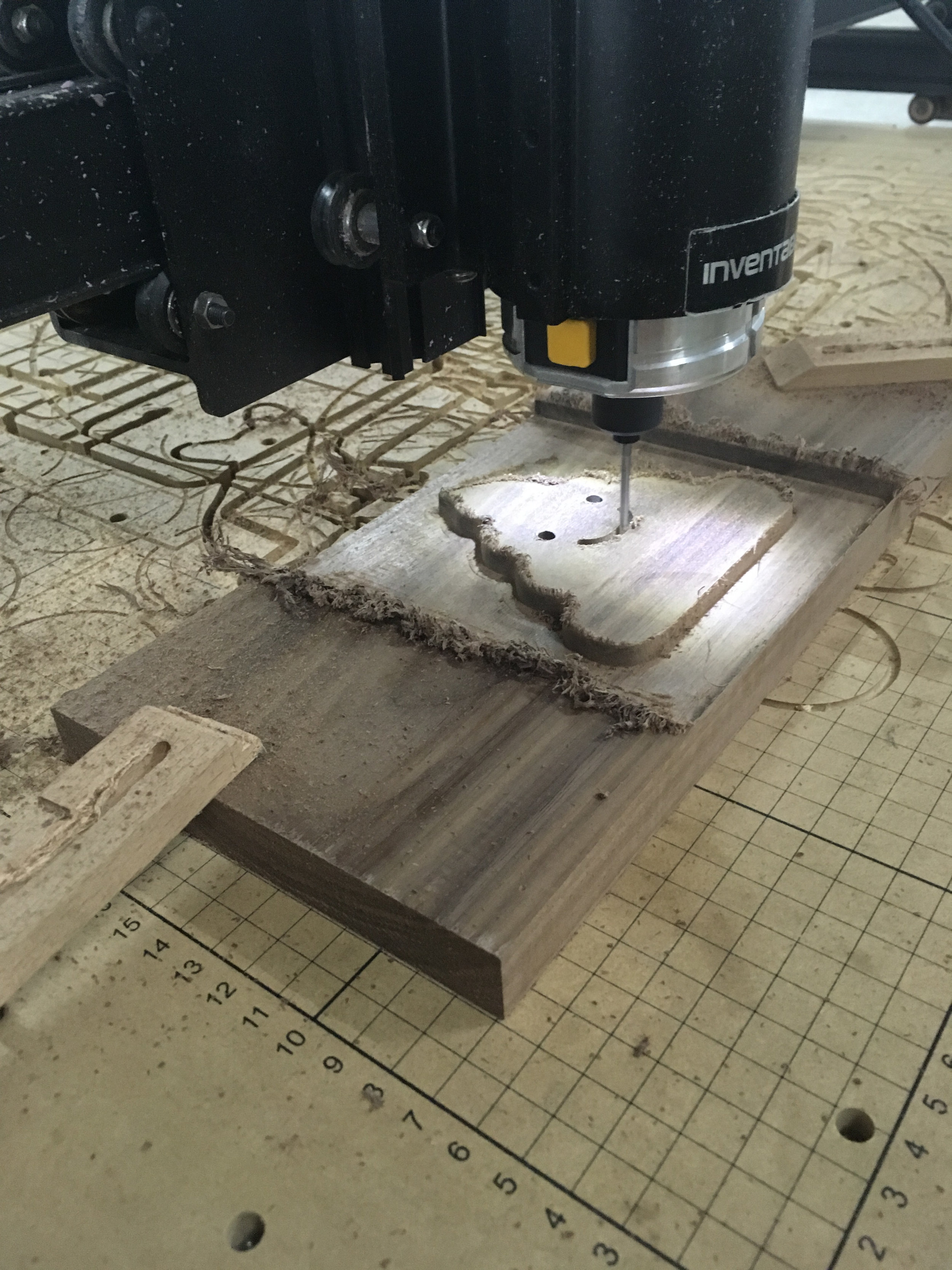 Using a Shapeoko to CNC the signs