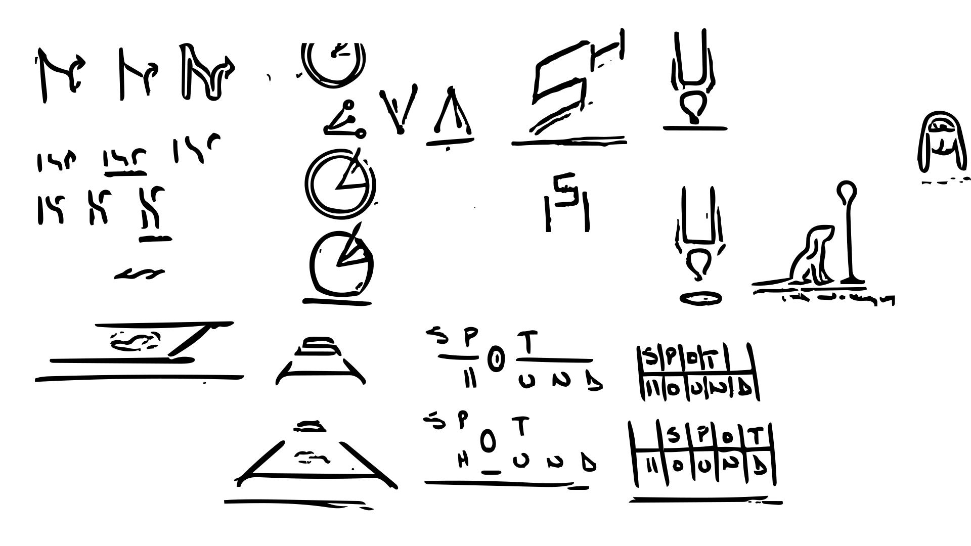Ruff  sketches.