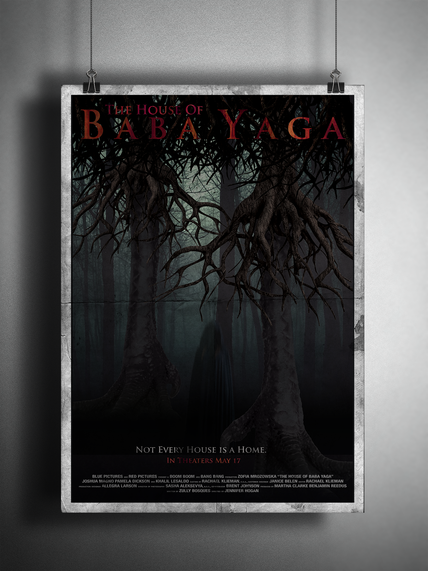 """""""The House of Baba Yaga"""" promotional poster."""
