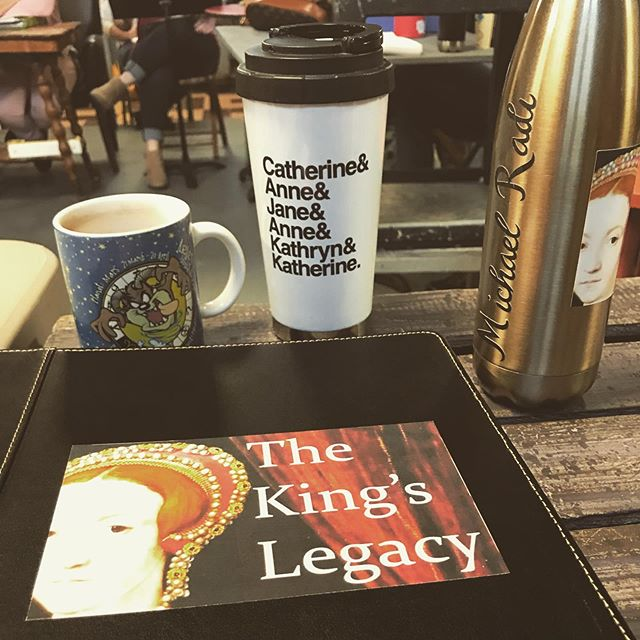 first day of school!!! . . . #thekingslegacymusical #firstdayofschool #newmusical #firstrehearsal #bvtnaples #bvt2019