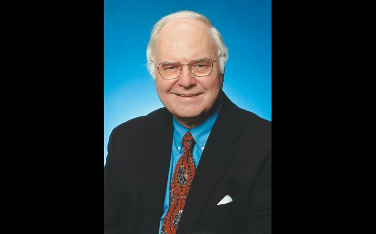 Michael Novak, who died Feb. 17 at age 83, is pictured in an undated photo. Novak was a groundbreaking author, philosopher and theologian. Since last August he had been a faculty member at The Catholic University of America's Tim and Steph Busch School of Business and Economics in Washington. (CNS files)
