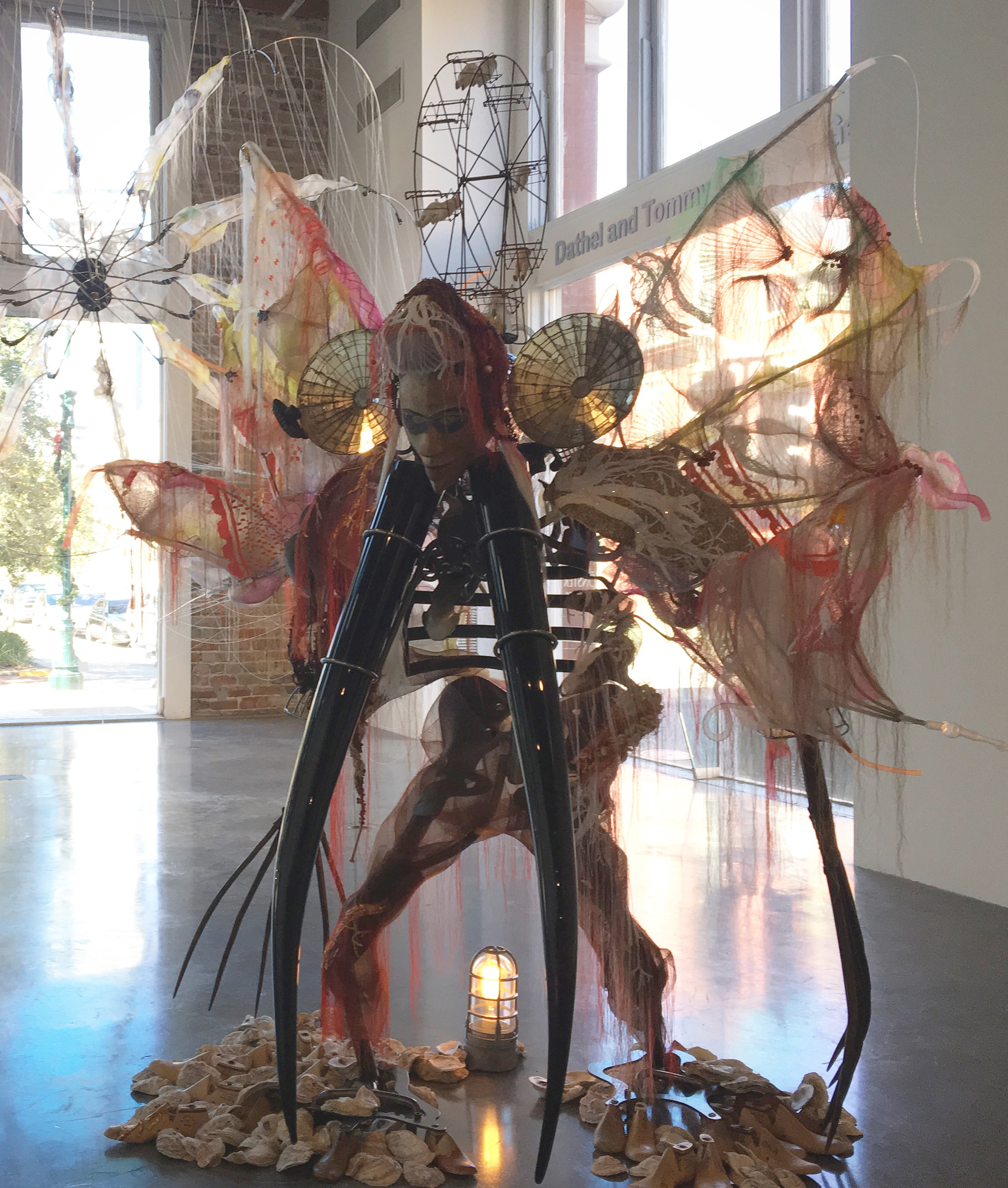 Rina Banerjee on view at the Contemporary Arts Center