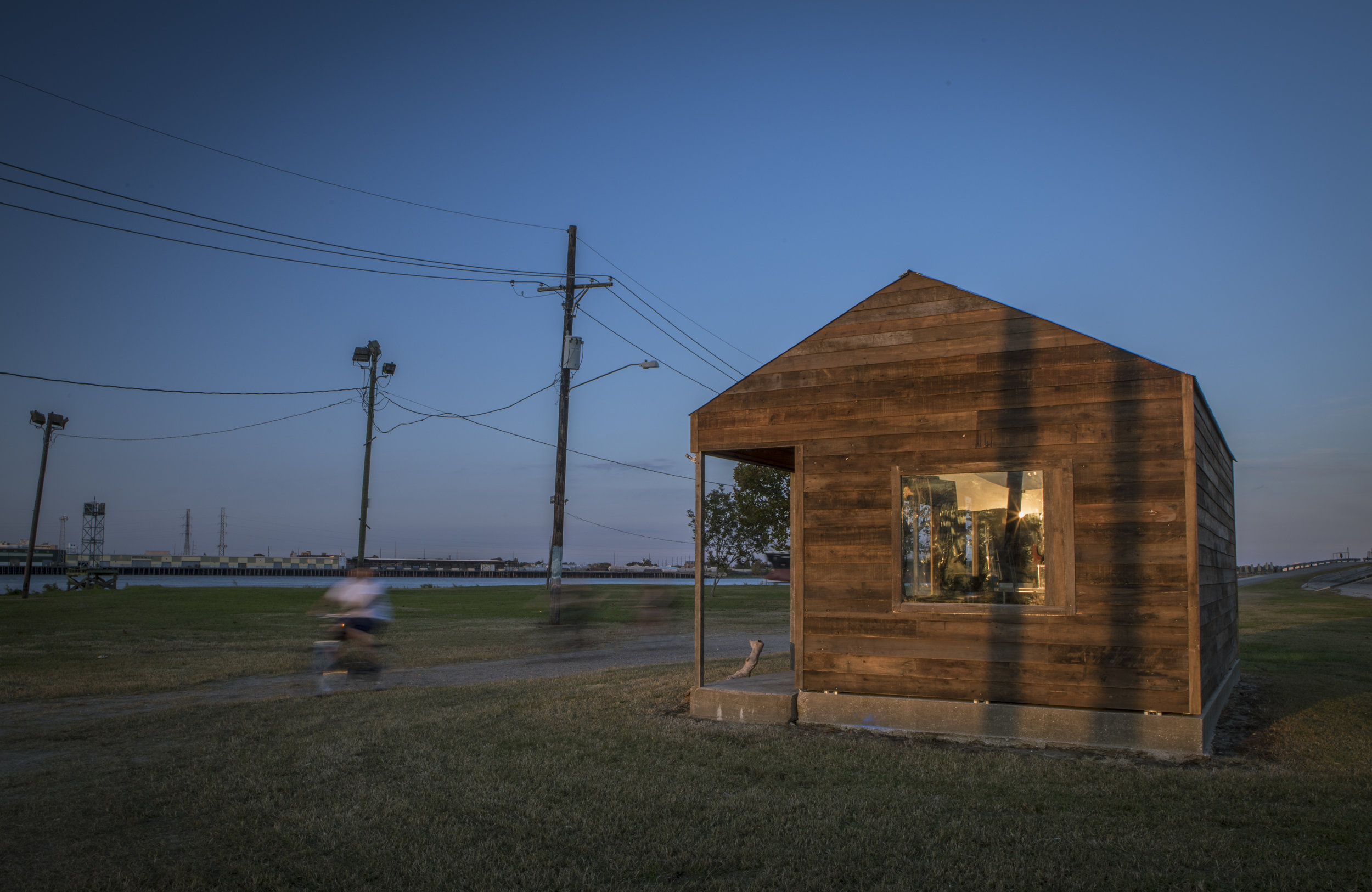 Mark Dion The Field Station of the Melancholy Marine Biologist, 2017 Installation View at Algiers Point for Prospect.4: The Lotus in Spite of the Swamp Photo © Crista Rock.jpg