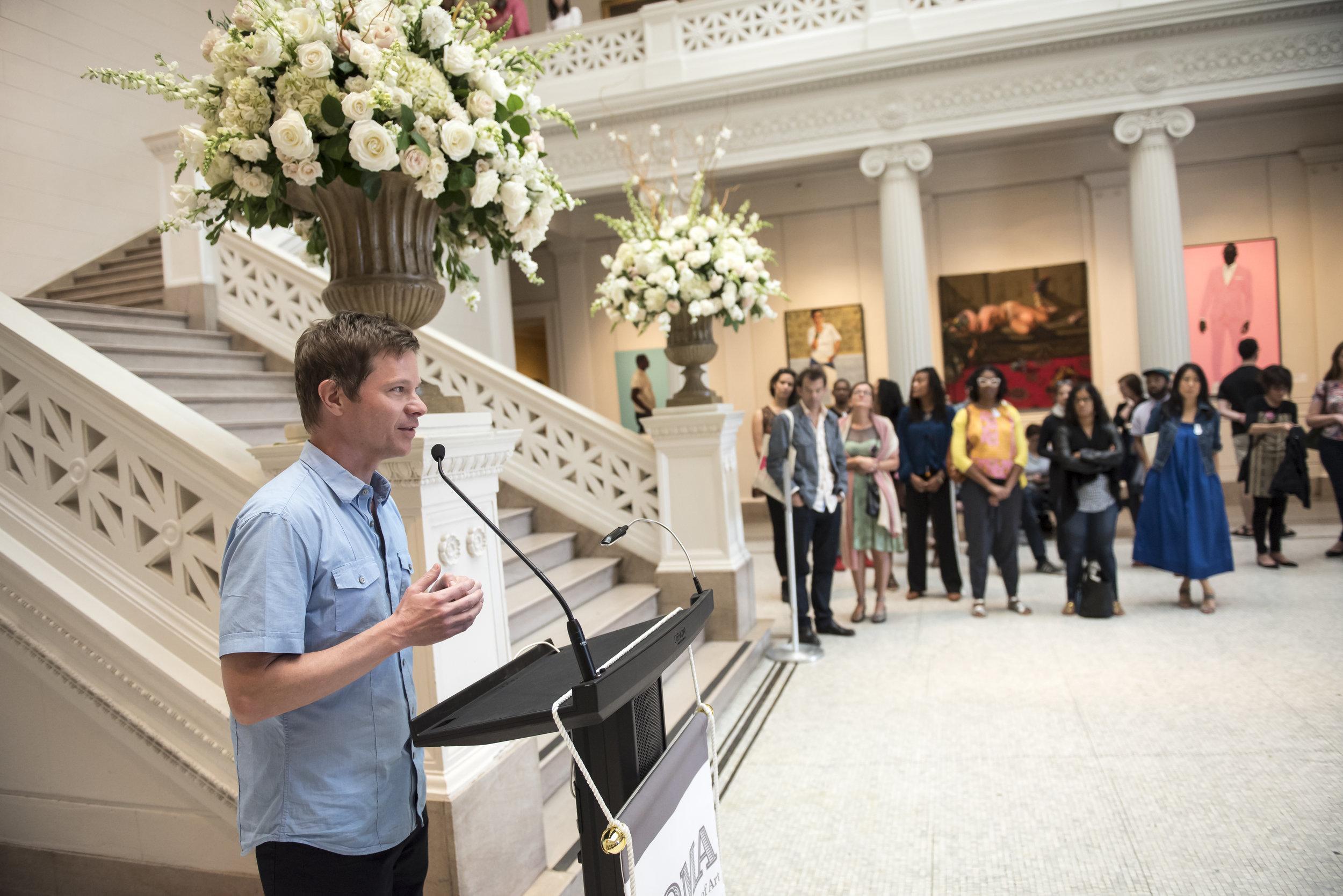 P.4 Artistic Director, Trevor Schoonmaker, Speaking at NOMA