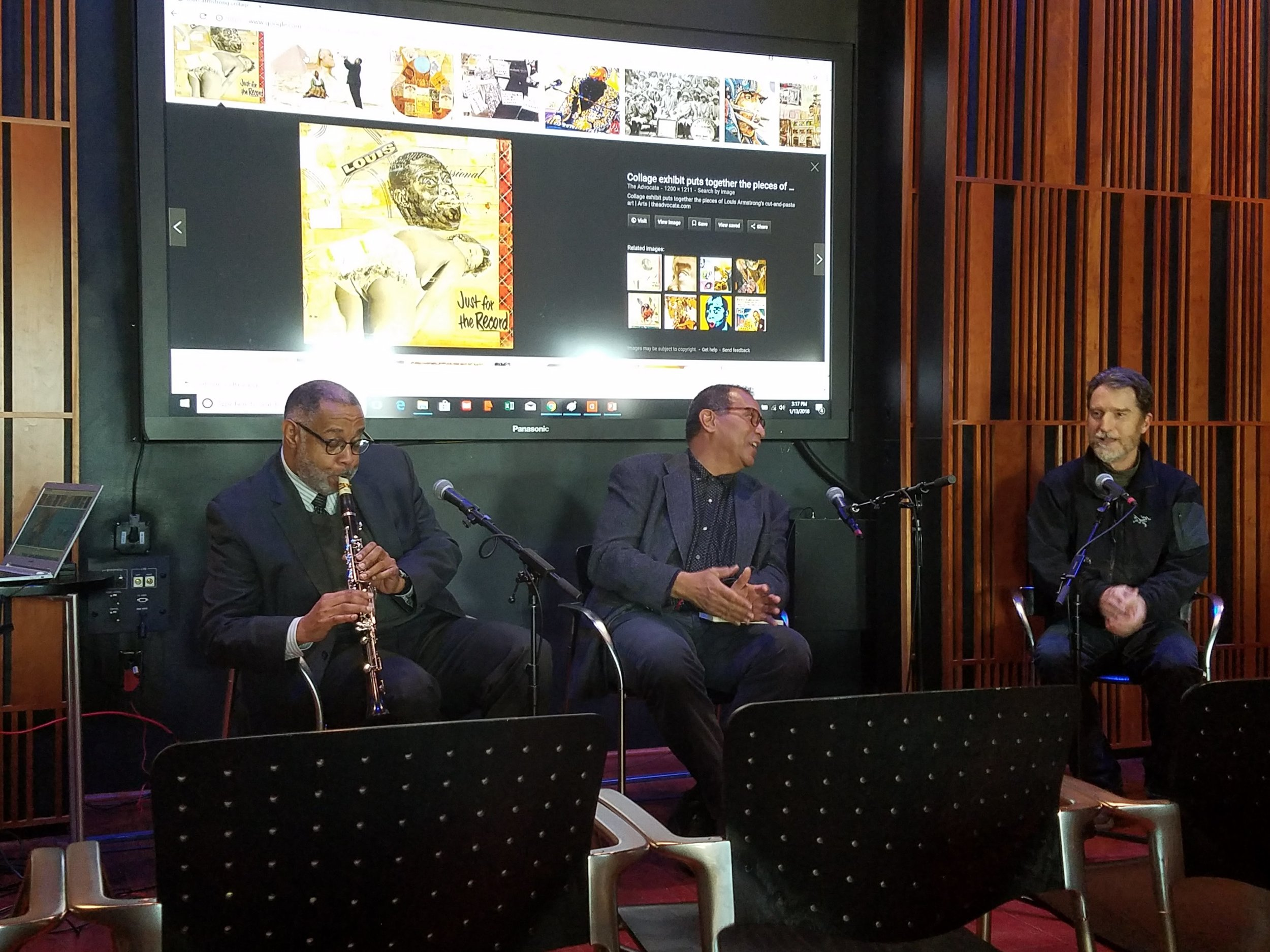 Louis Armstrong's Collages: Collage in Art and Music Panel at New Orleans Jazz Museum