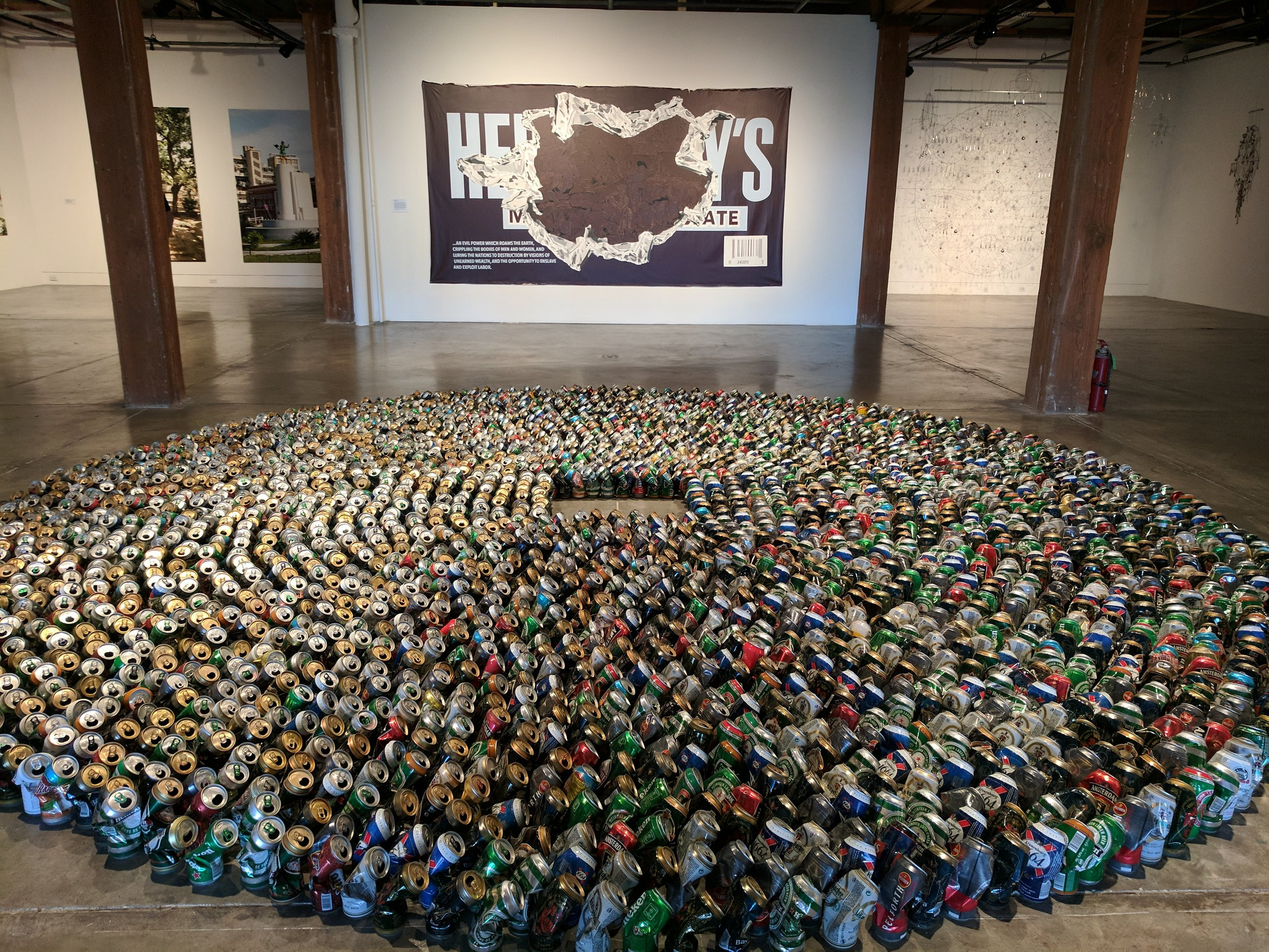 Installation View at New Orleans Contemporary Art Center