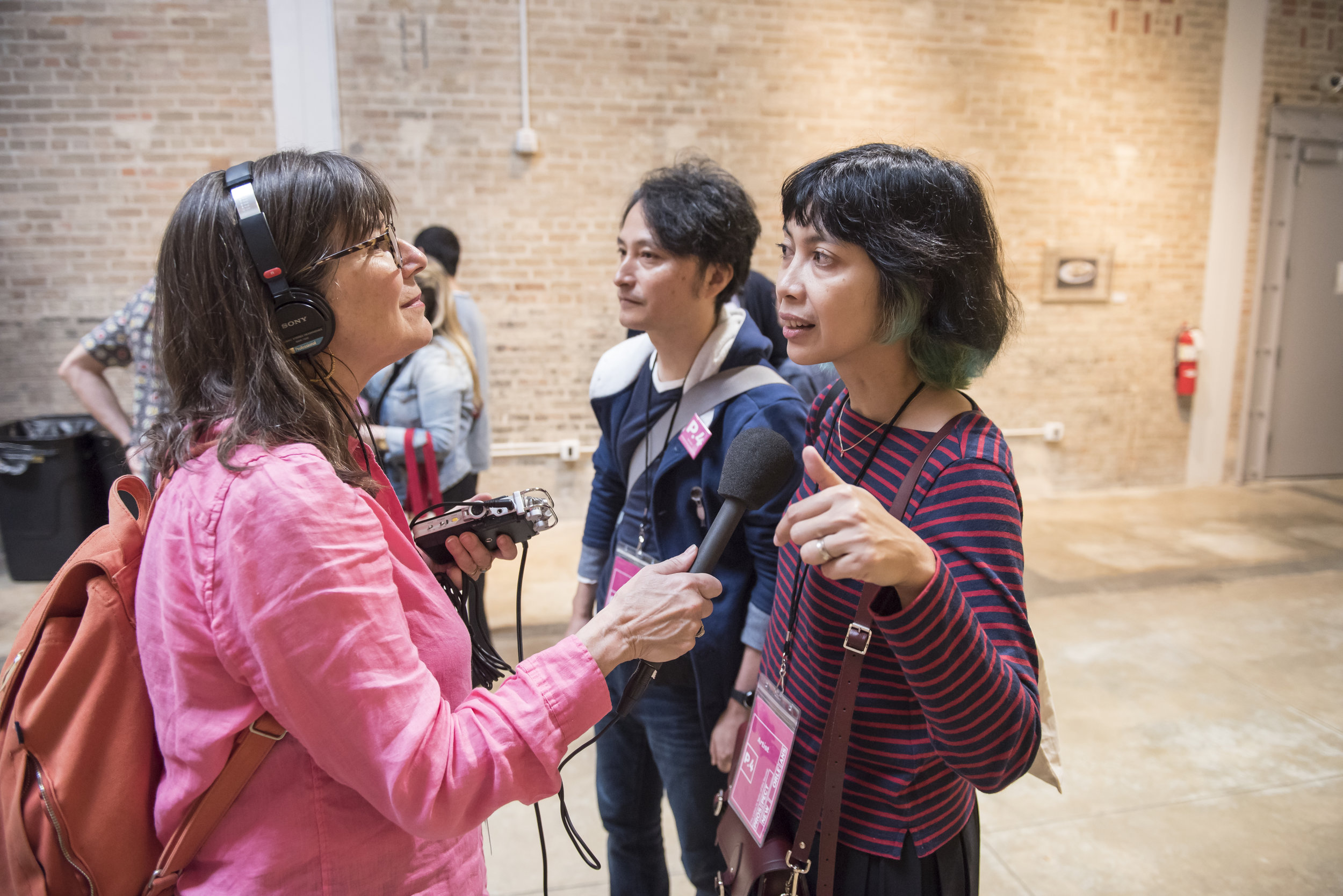 Davia Nelson with Taiyo Kimura & Tita Salina