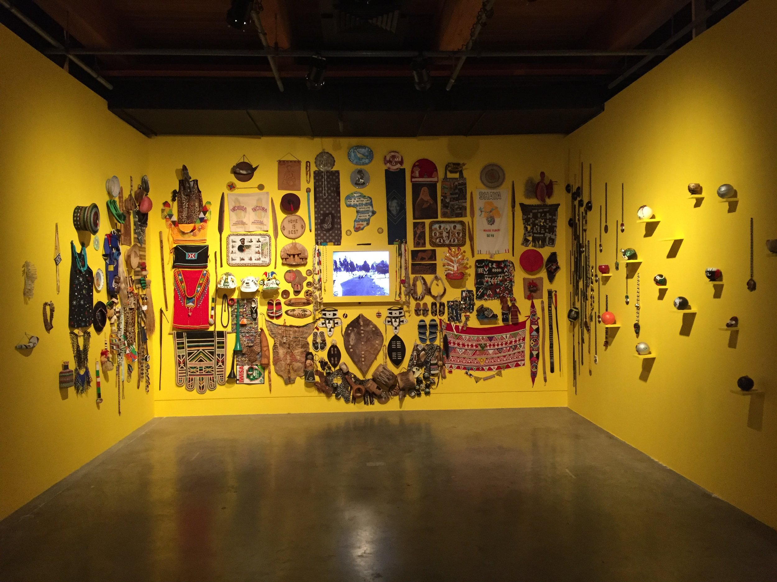 "Penny Siopis ""World of Zulu"" at the Contemporary Art Center"