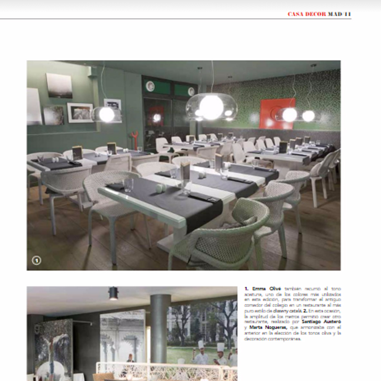 Revista CasaDecor - Restaurante