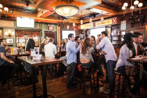 A quick glance of a crowded Hair of the Dog courtesy of timeoutnewyork.com.